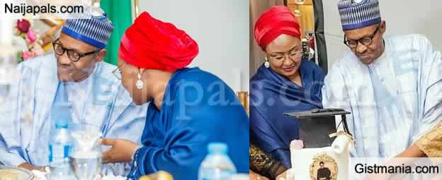 "<img alt='.' class='lazyload' data-src='https://img.gistmania.com/emot/comment.gif' /> <b>""COVID-19 Is A Sign That God Is Not Happy With Us""- Fist Lady, Aisha Buhari Goes Spiritual</b>"