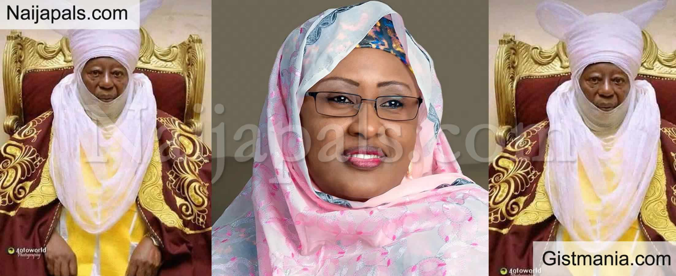 <img alt='.' class='lazyload' data-src='https://img.gistmania.com/emot/comment.gif' /> <b>Aisha Buhari Expresses Shock, Grief Over Emir Of Zazzau's Death</b>