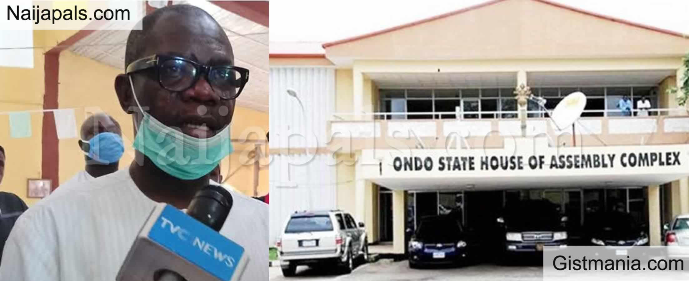 <img alt='.' class='lazyload' data-src='https://img.gistmania.com/emot/video.gif' /> VIDEO: Drama as<b> Lawmakers Clash Over Impeachment of Ondo Deputy Governor Agboola Ajayi</b>