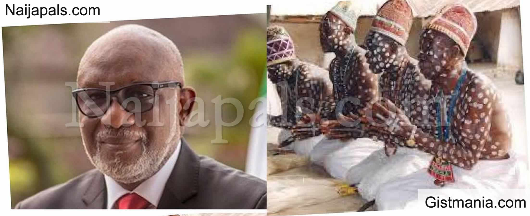 <img alt='.' class='lazyload' data-src='https://img.gistmania.com/emot/comment.gif' /> <b>Let's Flush Out Criminals With Our Spiritual Powers - Traditionalists Tell Ondo Gov. Akeredolu</b>