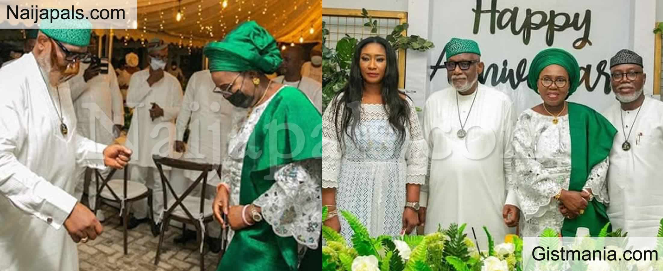 <img alt='.' class='lazyload' data-src='https://img.gistmania.com/emot/news.gif' /> <b>Governor Akeredolu And Wife's 40th Wedding Anniversary In Ibadan</b>