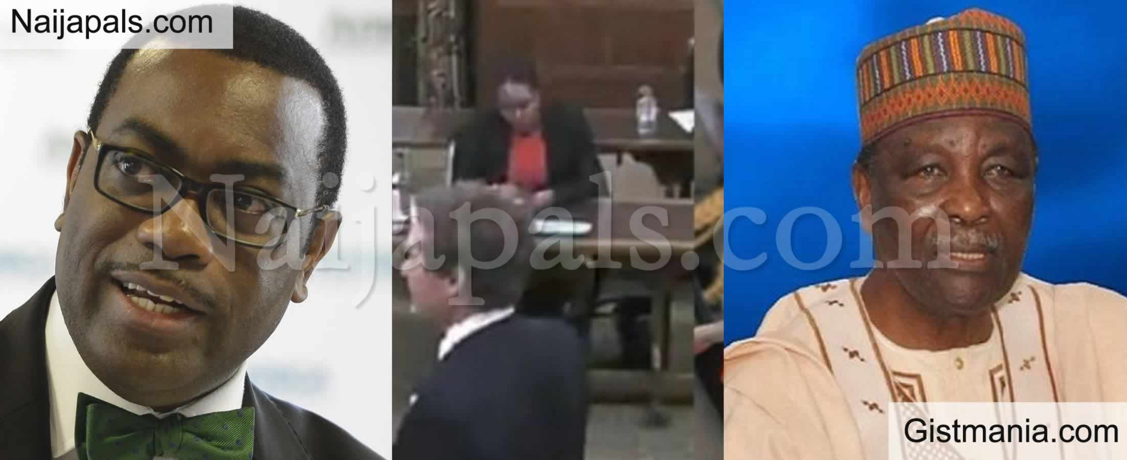 <img alt='.' class='lazyload' data-src='https://img.gistmania.com/emot/comment.gif' /> Be Careful of Misinformation - <b>Akinwumi Adesina Decries UK's Looting Allegations on Gen Gowon</b>
