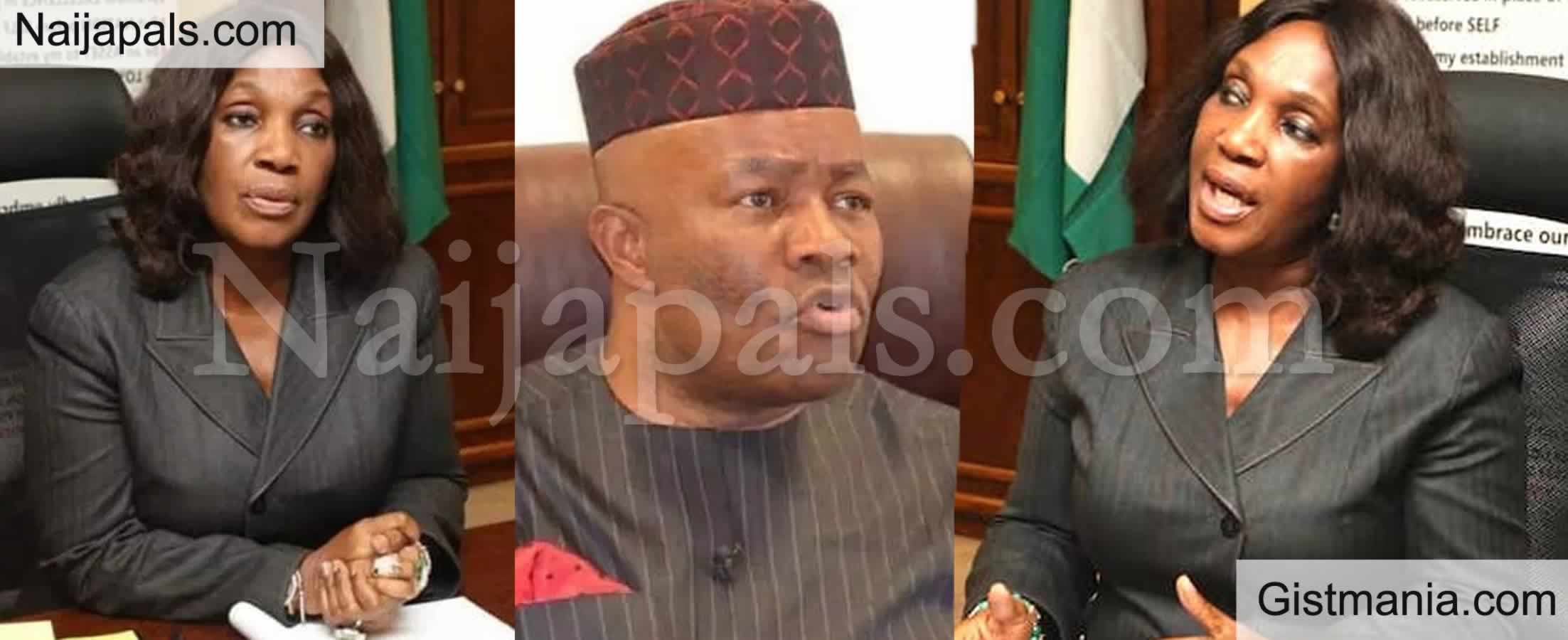 <img alt='.' class='lazyload' data-src='https://img.gistmania.com/emot/video.gif' /> NDDC Feud Gets Messier as Ex MD, <b>Dr Joi Nunieh Accuses Minister Akpabio Of Sexual Harassment</b> (VID)