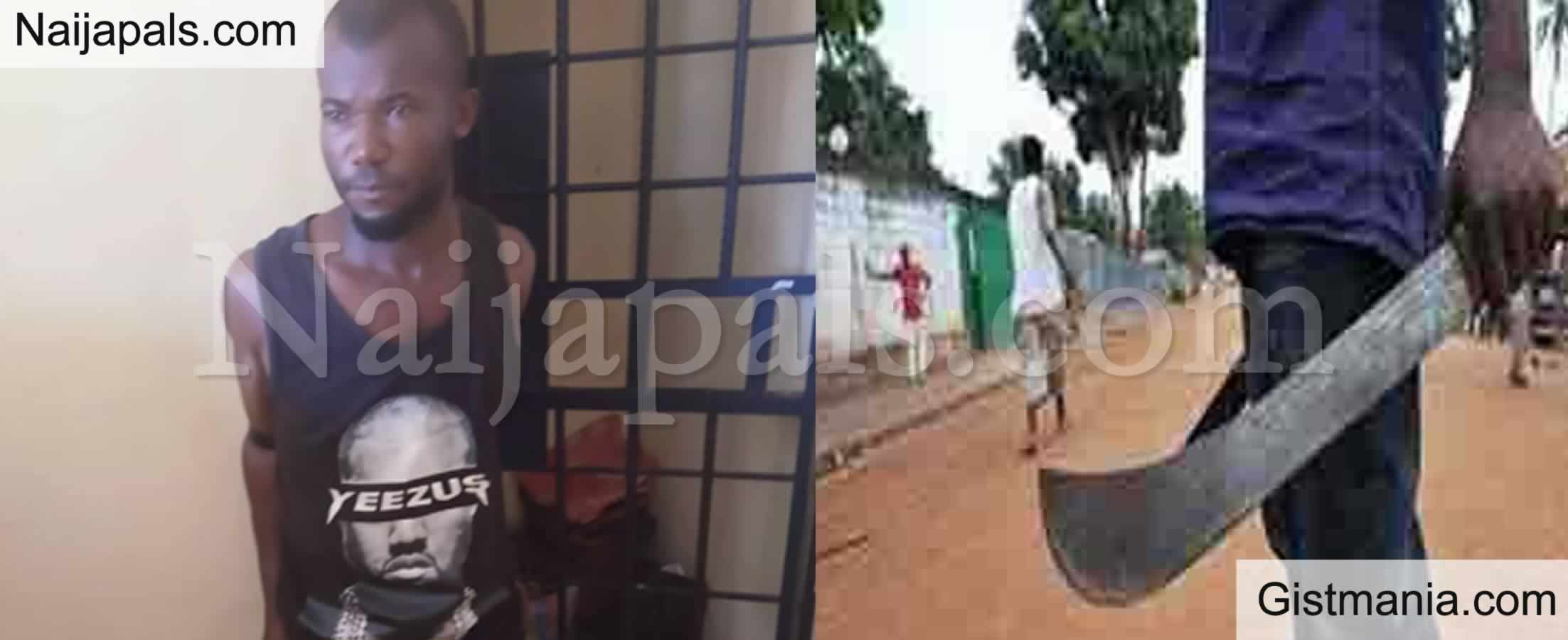 <img alt='.' class='lazyload' data-src='https://img.gistmania.com/emot/smh.gif' /> FATHER FROM HELL! <b>Man Christian Alisigwe Butchers His 4yr Old Son In Anambra</b>