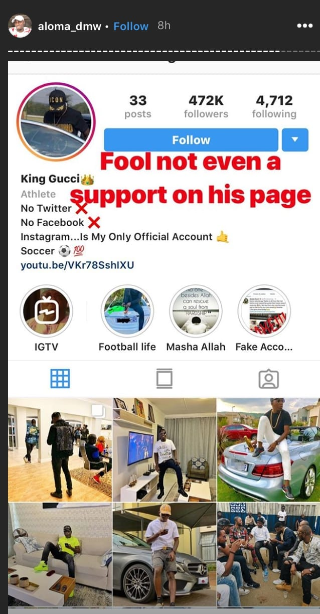 Video+Photos: DMW Crew Slam Aremo Gucci For Saying Davido Is