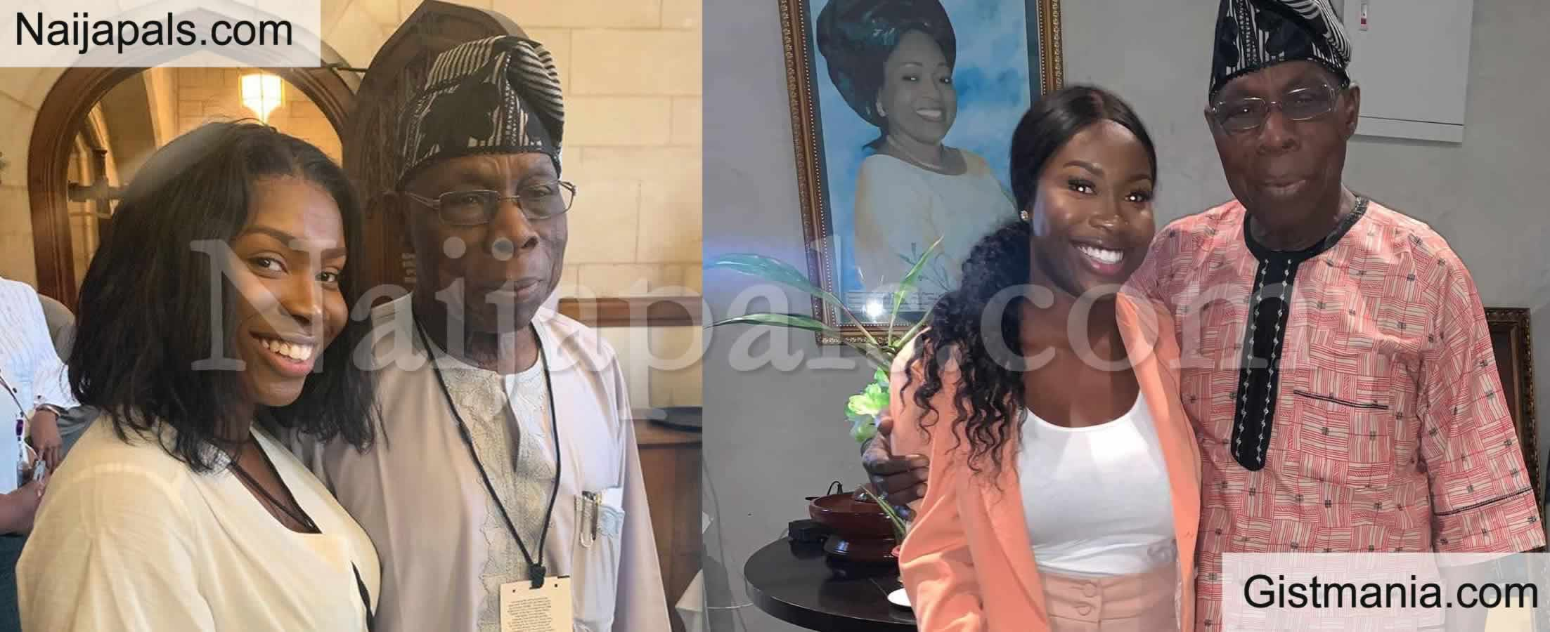 <img alt='.' class='lazyload' data-src='https://img.gistmania.com/emot/comment.gif' /> <b>How I Became Obasanjo's 'Self Appointed PA' </b>- UK-Born Nigerian Lady, Aminat Sule