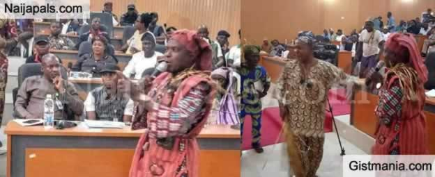 <img alt='.' class='lazyload' data-src='https://img.gistmania.com/emot/shocked.gif' /> <b>We Won't Tolerate Indecent Dressing & Speaking Bad Yoruba</b> - Amotekun Commander Warns The Youths