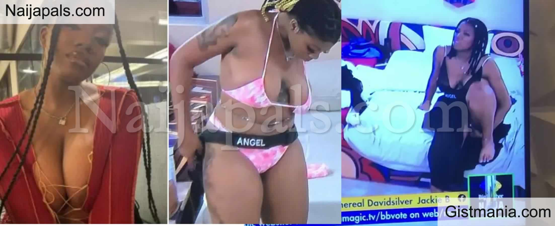 <img alt='.' class='lazyload' data-src='https://img.gistmania.com/emot/video.gif' /> #BBNaija : <b>See How Fans React After Angel Is Seen On Camera Scratching Her Inner Thigh</b> (Video)