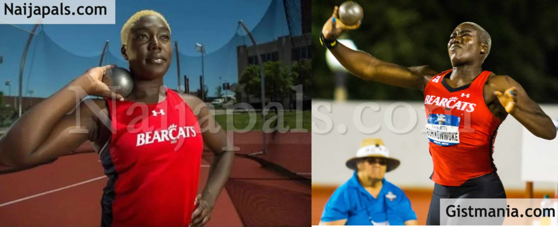 """<img alt='.' class='lazyload' data-src='https://img.gistmania.com/emot/smh.gif' /> <b>""""How I Was Disqualified From Olympics On My 25th Birthday""""</b> - Athlete, Annette Echikunwoke Who Dumped USA For Nigeria"""