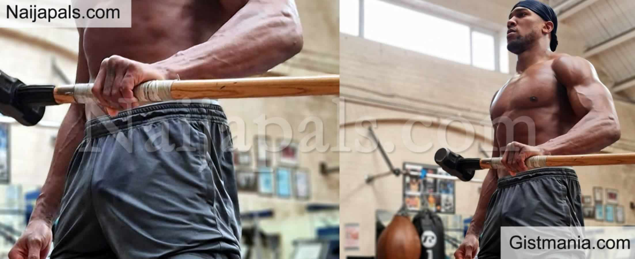 <img alt='.' class='lazyload' data-src='https://img.gistmania.com/emot/comment.gif' /> <b>Anthony Joshua Flexes His Muscles Ahead Of His Undisputed Clash With Tyson Fury</b>