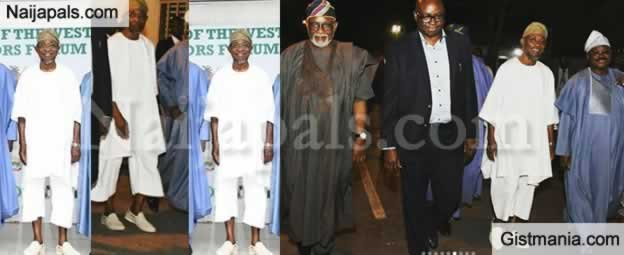 Osun State Gov, Rauf Aregbesola Steps Out For An Event In