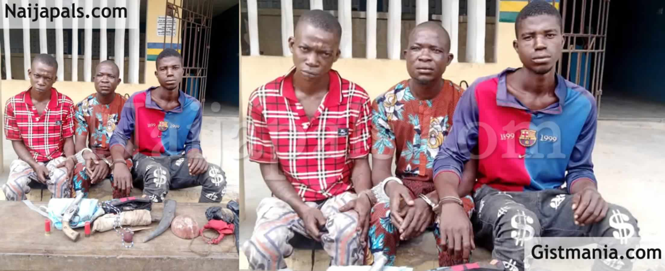 <img alt='.' class='lazyload' data-src='https://img.gistmania.com/emot/news.gif' /> <b>Ogun Police Arrest Three Armed Robbers Who Attacked Store & Carted Away Huge Sum Of Money</b>