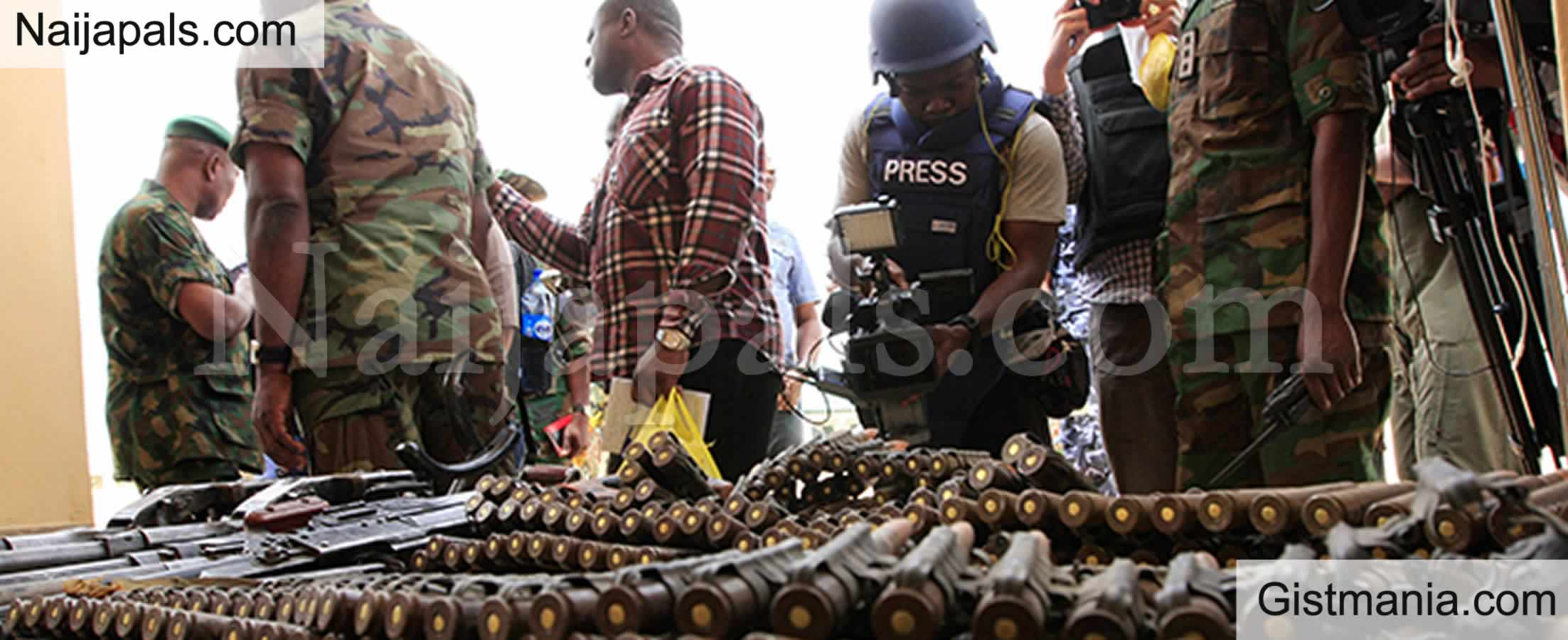 <img alt='.' class='lazyload' data-src='https://img.gistmania.com/emot/news.gif' /> <b>Nigerian Navy Laments Arms Proliferation Says Other Neighboring Countries Sell Arms When Broke</b>