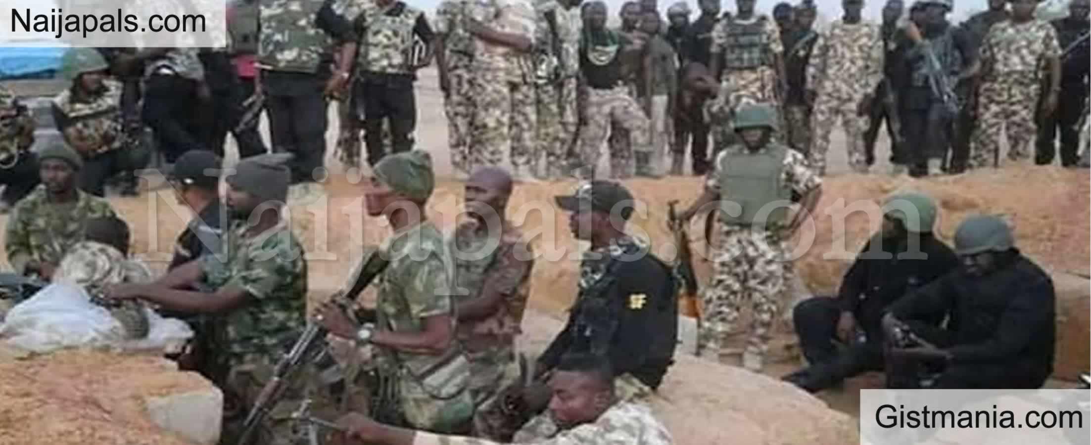 <img alt='.' class='lazyload' data-src='https://img.gistmania.com/emot/comment.gif' /> <b>Nigerian Soldiers Flee as Bandits Unleash Mayhem on Sokoto Community, Killing 150 Civilians</b>