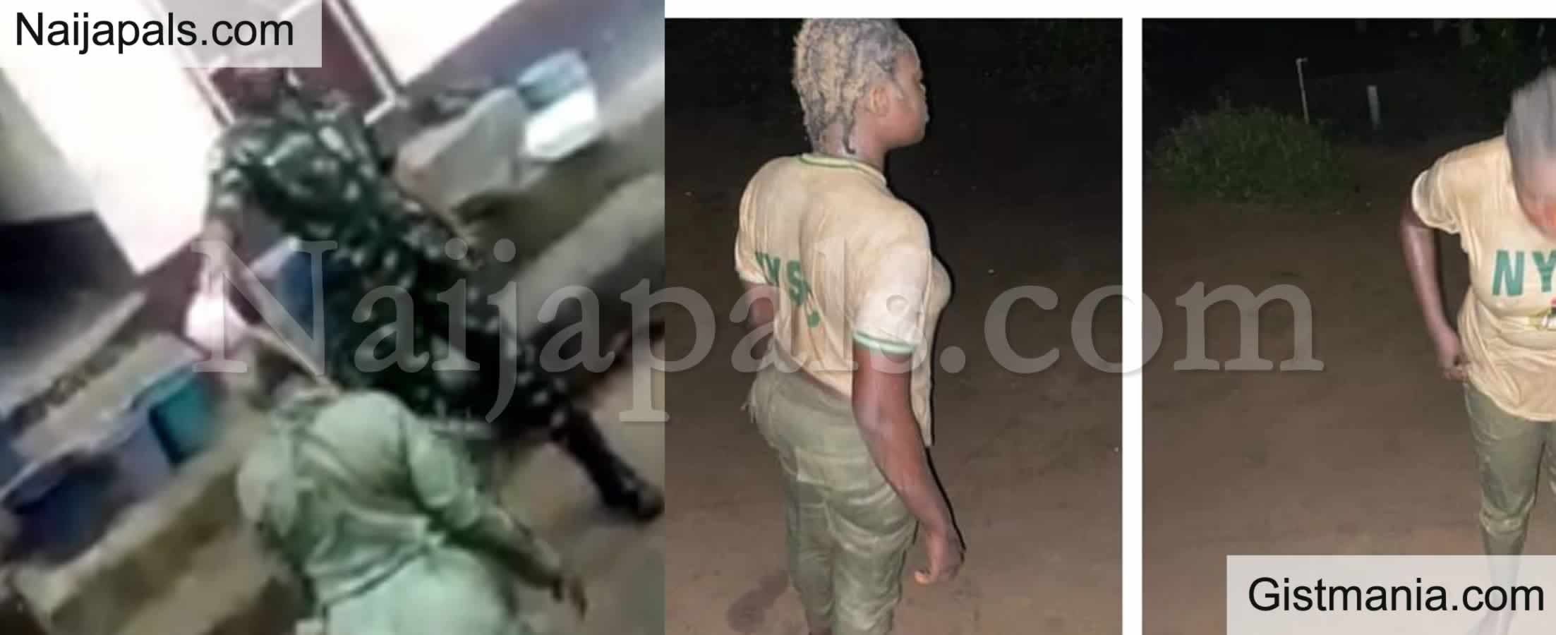 <img alt='.' class='lazyload' data-src='https://img.gistmania.com/emot/photo.png' /> Photos: <b>Nigerian Army Rebukes Its Officer Who Was Caught Assaulting A Youth Corper in Calabar</b>