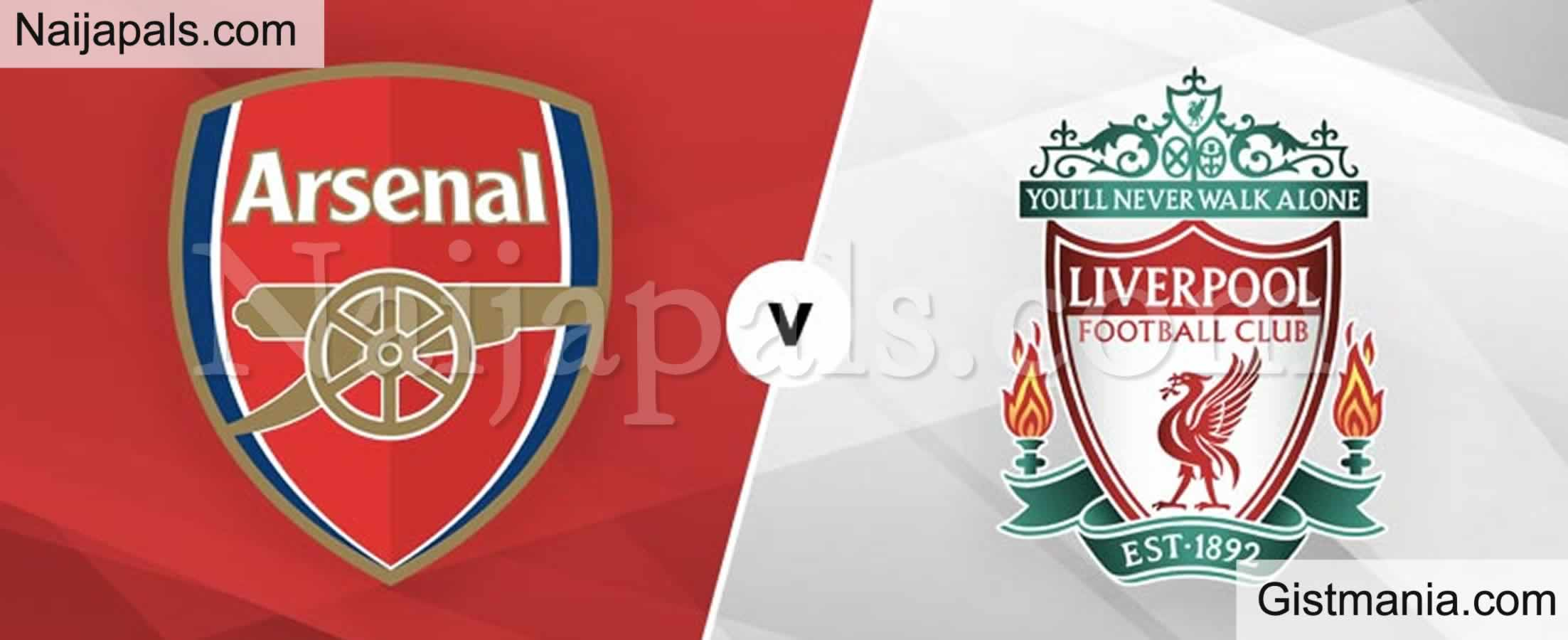 <img alt='.' class='lazyload' data-src='https://img.gistmania.com/emot/soccer.gif' /> <b>Liverpool v Arsenal : English Premier League Match, Team News, Goal Scorers and Stats</b>