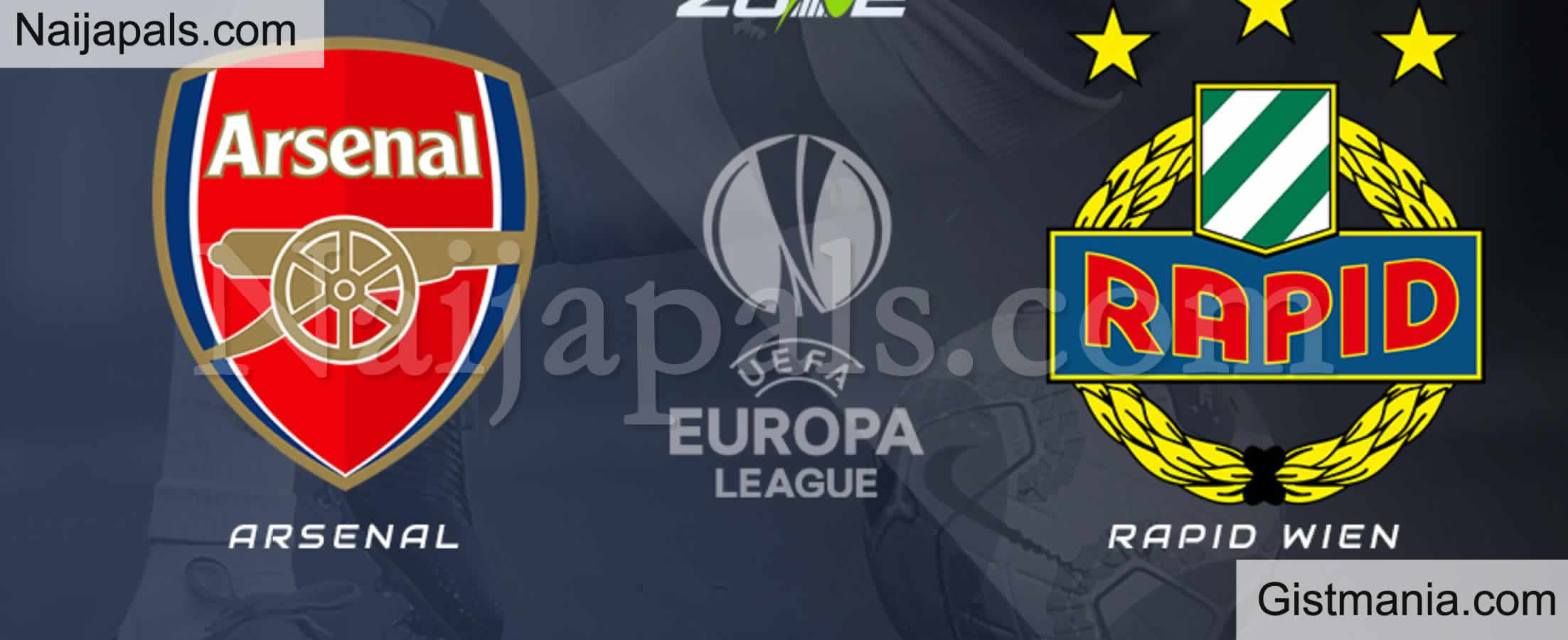 <img alt='.' class='lazyload' data-src='https://img.gistmania.com/emot/soccer.gif' /> <b>Arsenal v Rapid Wien : UEFA Europa League Match, Team News, Goal Scorers and Stats</b>