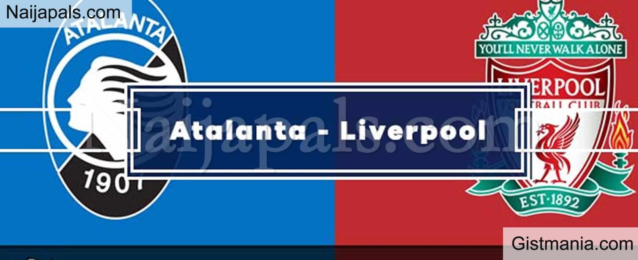 Atalanta v Liverpool : UEFA Champions League Match, Team ...