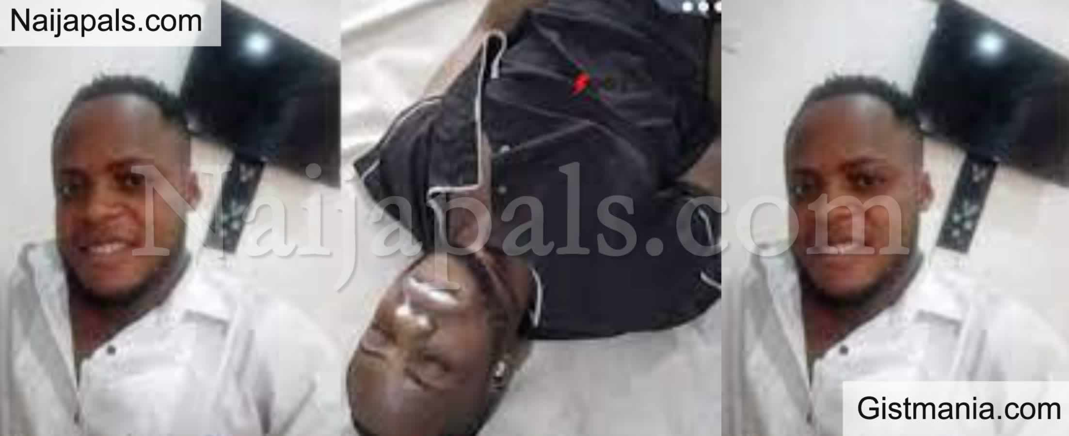 <img alt='.' class='lazyload' data-src='https://img.gistmania.com/emot/video.gif' /> <b>Auchi Poly Student Tears Lecturer's Shirt For Not Allowing Her To Write An Exam</b> (Video)