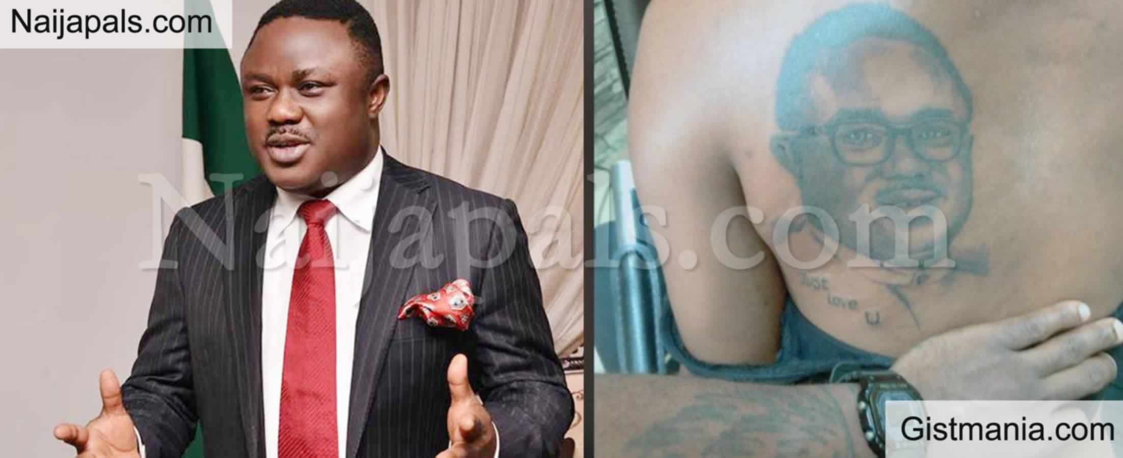 <img alt='.' class='lazyload' data-src='https://img.gistmania.com/emot/photo.png' /> <b>Photo Of Unknown Lady Who Inks Tattoo Of Cross Rivers Gov. Ben Ayade On Her Back</b>