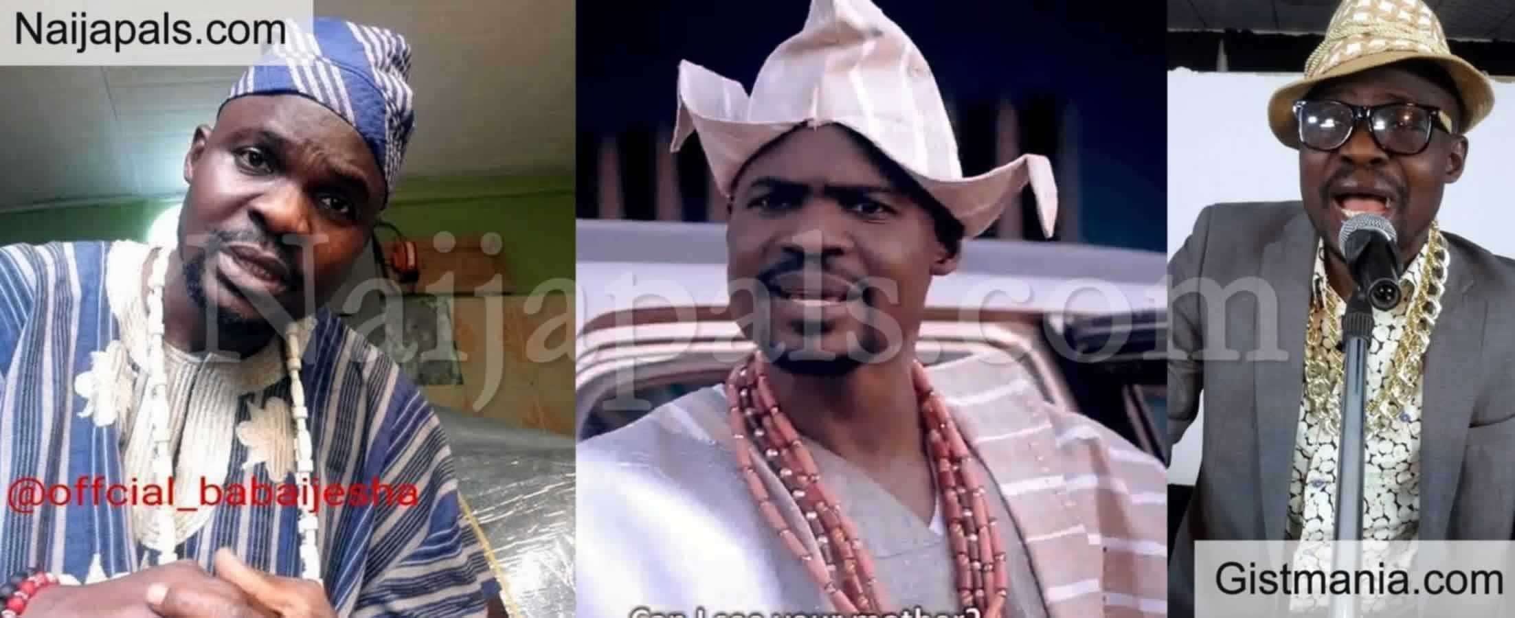 <img alt='.' class='lazyload' data-src='https://img.gistmania.com/emot/comment.gif' /> <b>Popular Yoruba Actor, Baba Ijesha Arrested For Child Molestation Of 7 Years Old Girl</b>