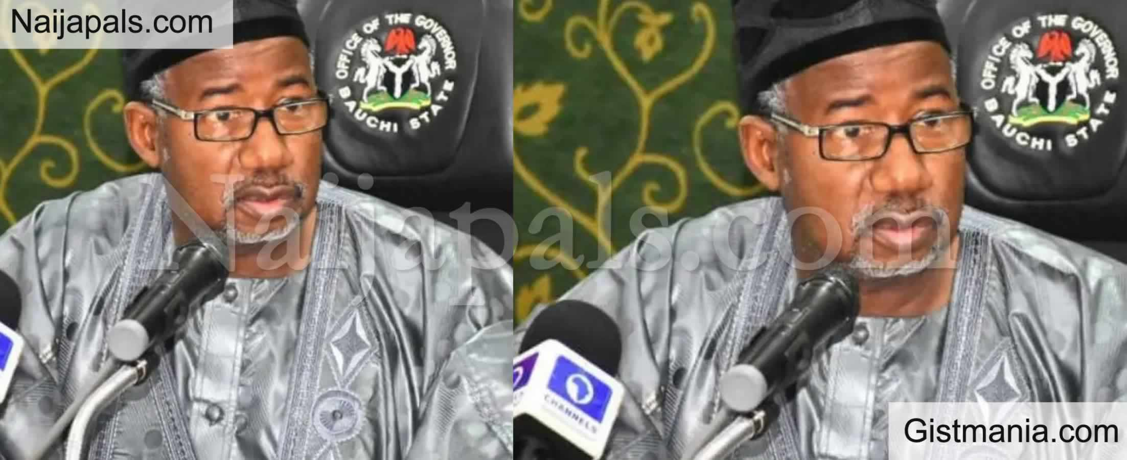 <img alt='.' class='lazyload' data-src='https://img.gistmania.com/emot/comment.gif' /><b> I Will Prosecute 1,115 Uncovered Ghost Workers In Bauchi - Gov. Mohammed Vows </b>