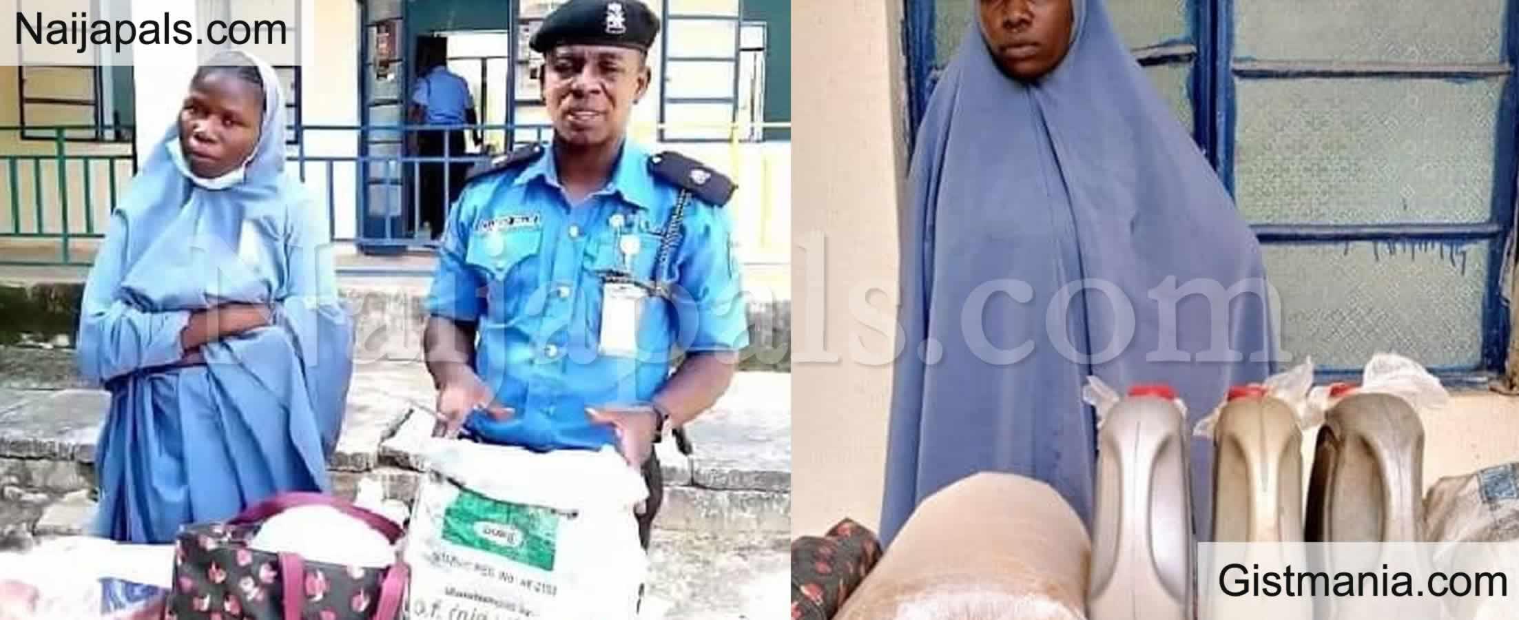 <img alt='.' class='lazyload' data-src='https://img.gistmania.com/emot/comment.gif' /> <b>Suspected Bandit's Wife, Rashida Hussaini Arrested With 6 Gallons Of Petrol In Katsina</b>