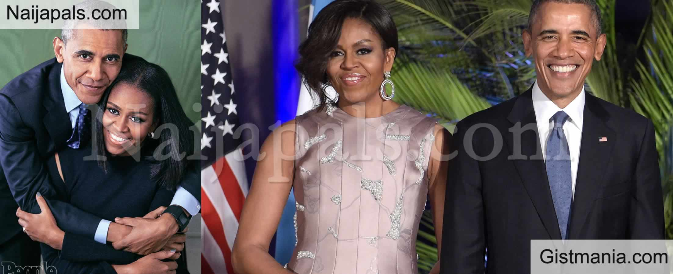 <img alt='.' class='lazyload' data-src='https://img.gistmania.com/emot/thumbs_up.gif' /> Ex American First Couple,<b> Barrack And Michelle Obama Emerge Most Admired People in The World</b>