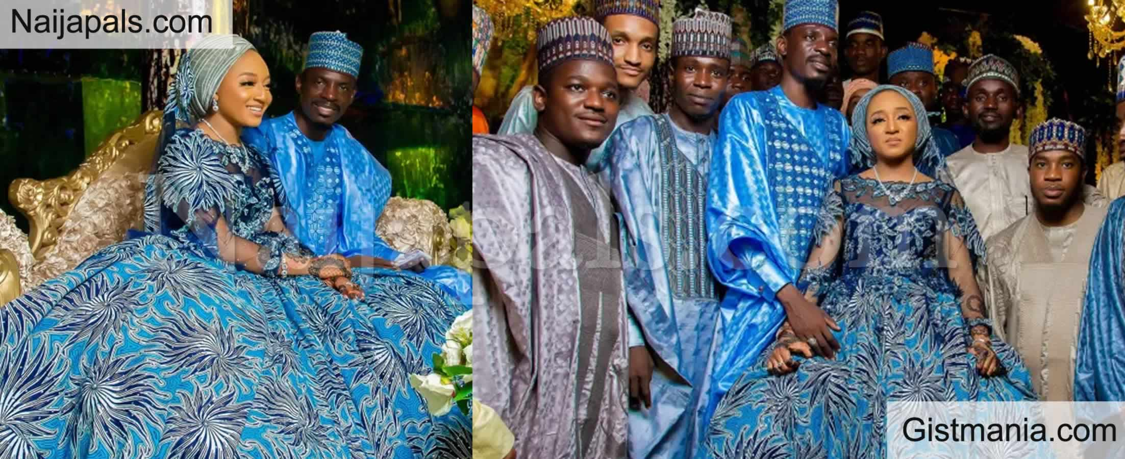 <img alt='.' class='lazyload' data-src='https://img.gistmania.com/emot/photo.png' /> <b>Memorable Moments From President Buhari's Aide, Bashir Ahmad's Wedding Over The Weekend</b>