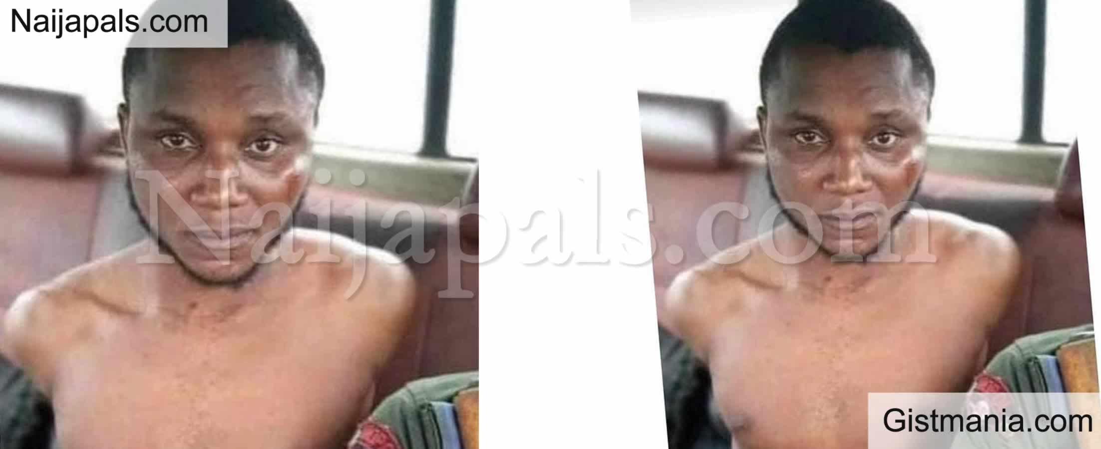 <img alt='.' class='lazyload' data-src='https://img.gistmania.com/emot/comment.gif' /> <b>Yahoo Boy Arrested After Failed Attempt to Behead His Girlfriend For Ritual in Bayelsa</b>