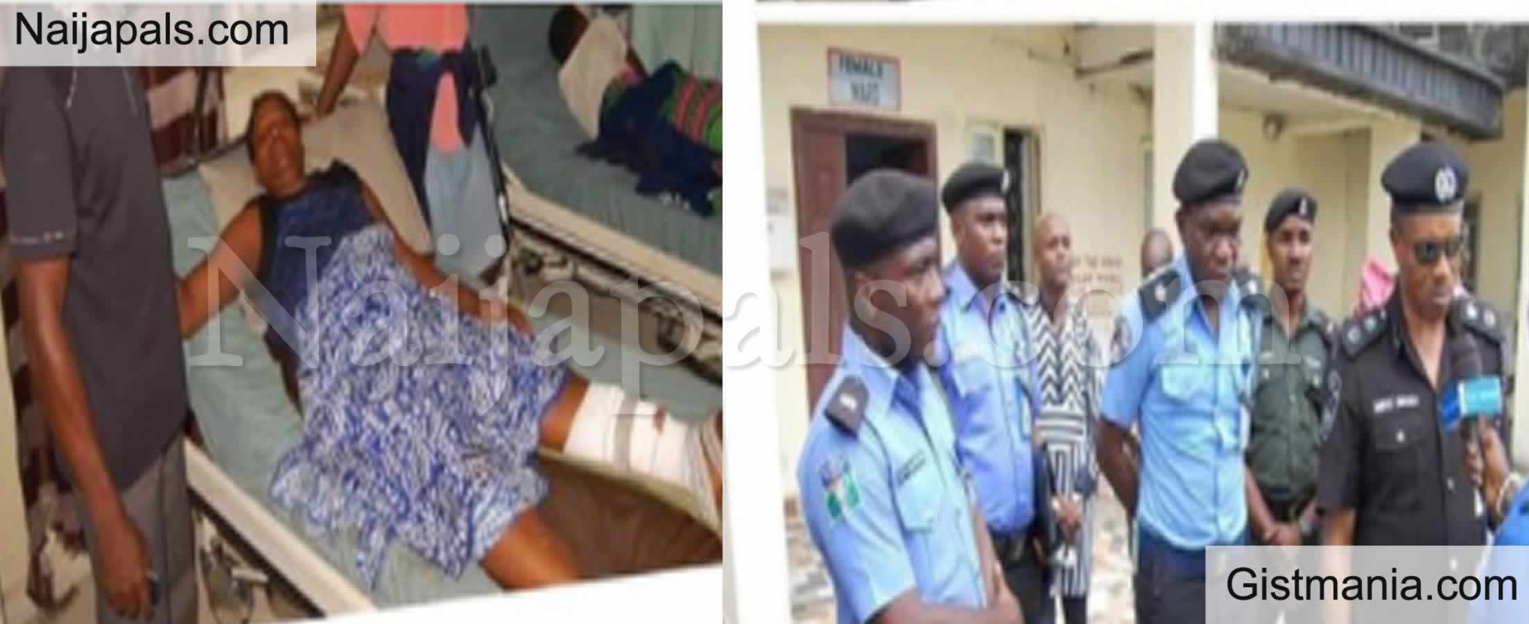 <img alt='.' class='lazyload' data-src='https://img.gistmania.com/emot/cry.gif' /> <b>Pandemonium In Bayelsa As Police Shoot Three Women In Order To Disperse Traffic</b>