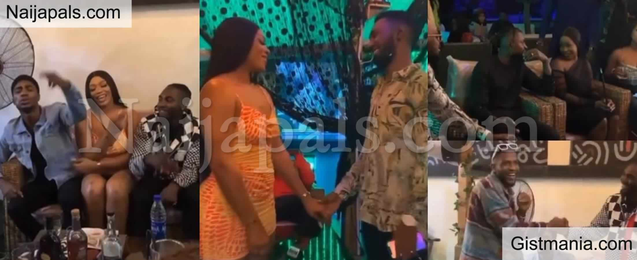 <img alt='.' class='lazyload' data-src='https://img.gistmania.com/emot/video.gif' /> VIDEO: <b>Evicted S6 BBN, Housemates Reunite As They Storm Sammie's Party</b>