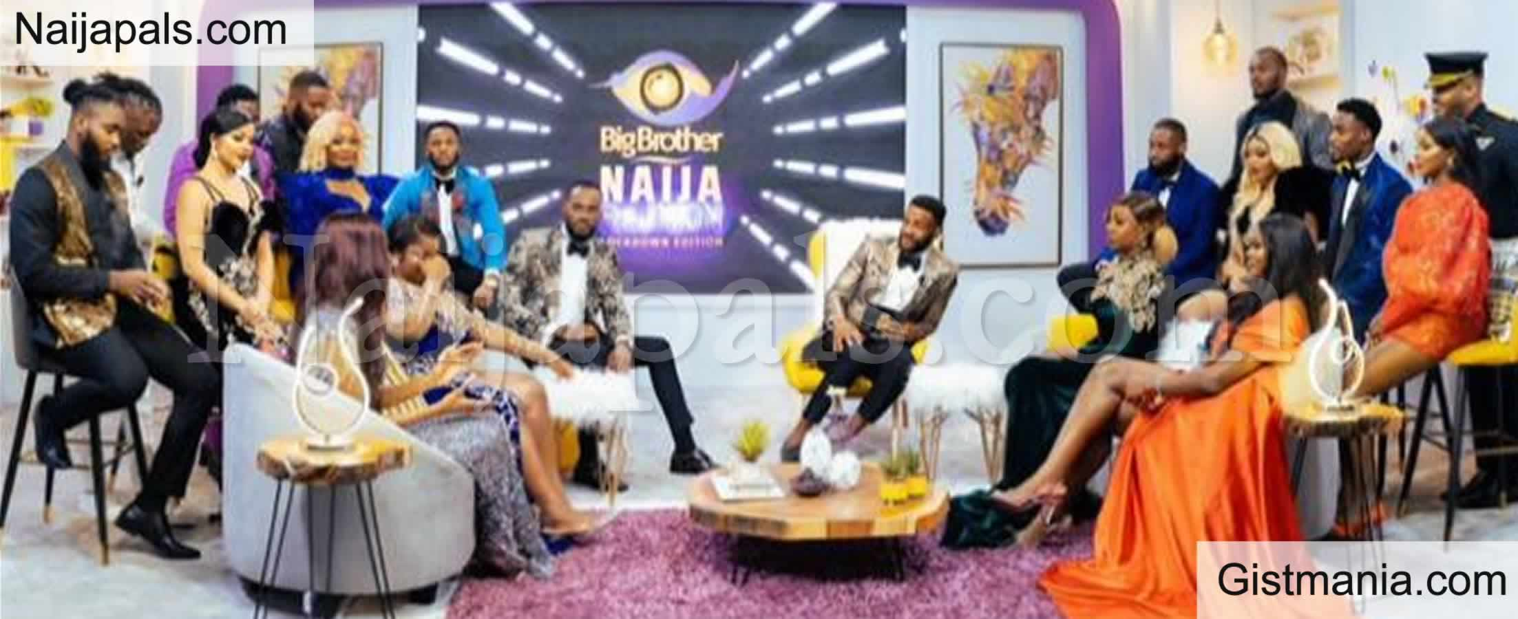 <img alt='.' class='lazyload' data-src='https://img.gistmania.com/emot/comment.gif' /> BBNaija Reunion: <b>Prince Nelson Completely Snubs Dorathy During The Exchange Of Pleasantries</b>