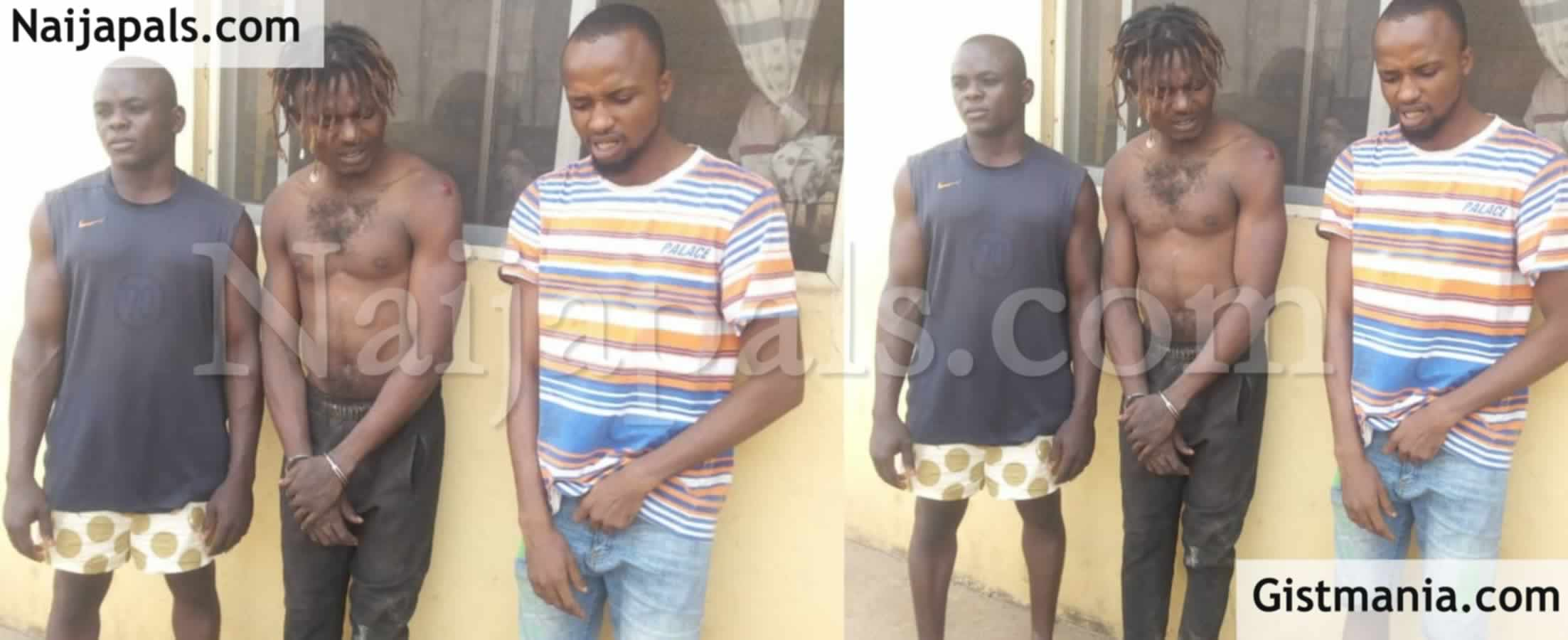 <img alt='.' class='lazyload' data-src='https://img.gistmania.com/emot/news.gif' /> <b>Three Arrested For Allegedly Beating 23-Year-Old Man To Death Over Phone Theft In Ogun State</b>