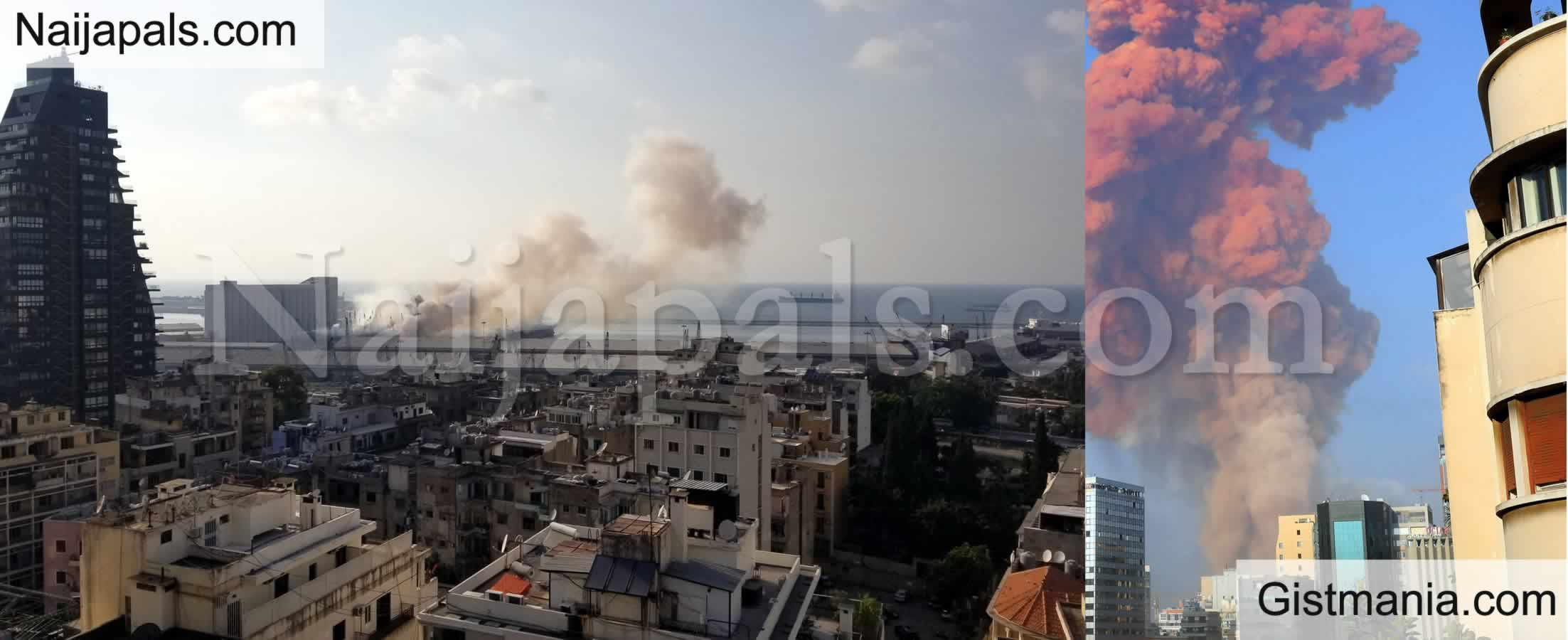 <img alt='.' class='lazyload' data-src='https://img.gistmania.com/emot/cry.gif' /> VIDEOS: <b>Several Injured As Massive Explosion Goes Off In Beirut, Lebannon</b>