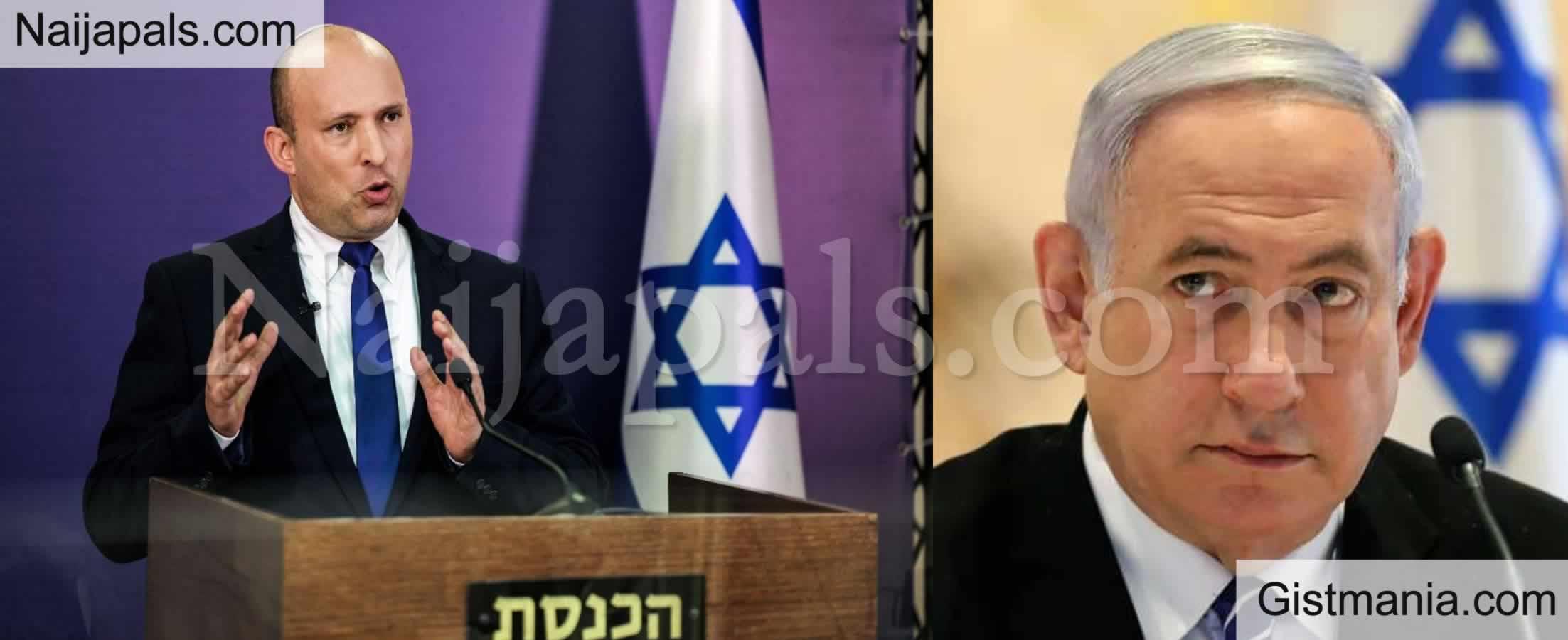 <img alt='.' class='lazyload' data-src='https://img.gistmania.com/emot/photo.png' /><img alt='.' class='lazyload' data-src='https://img.gistmania.com/emot/news.gif' /> <b>Naftali Bennett Ends Netanyahu's 12-Year Rule, Sworn In As Israel's New Prime Minister</b>