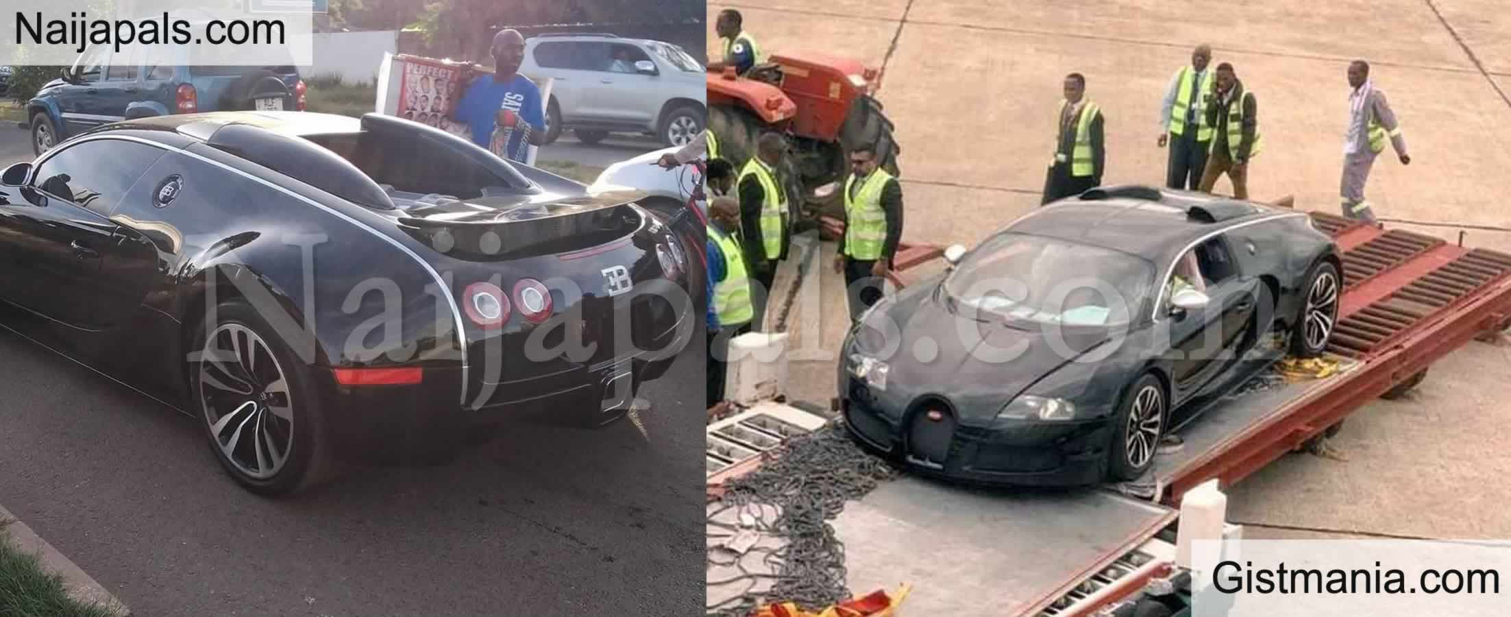 Zambia Authorities Investigate Source Of Income Of Owner Of $2.8m Bugatti Veryon - Gistmania