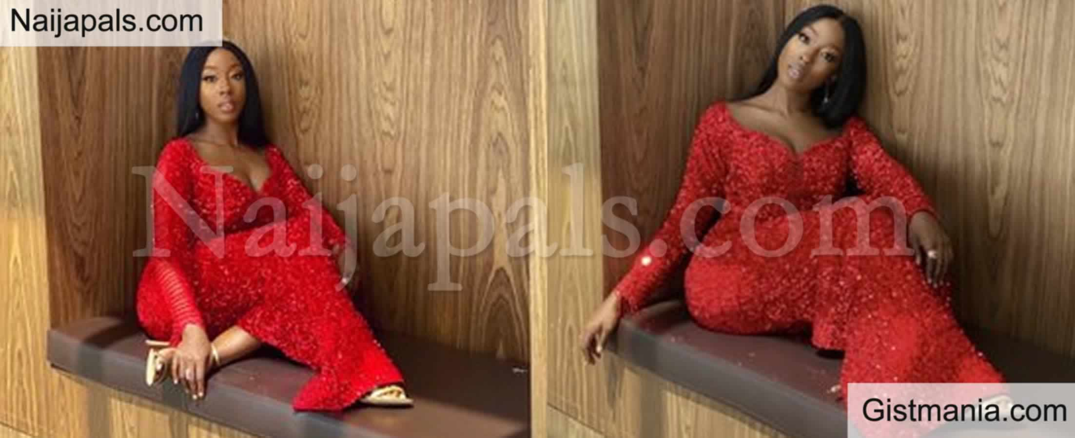 <img alt='.' class='lazyload' data-src='https://img.gistmania.com/emot/love.gif' /> PHOTOS: <b>Nollywood Actress, Beverly Naya Looks Beautiful As She Stuns In Red  Outfit</b>