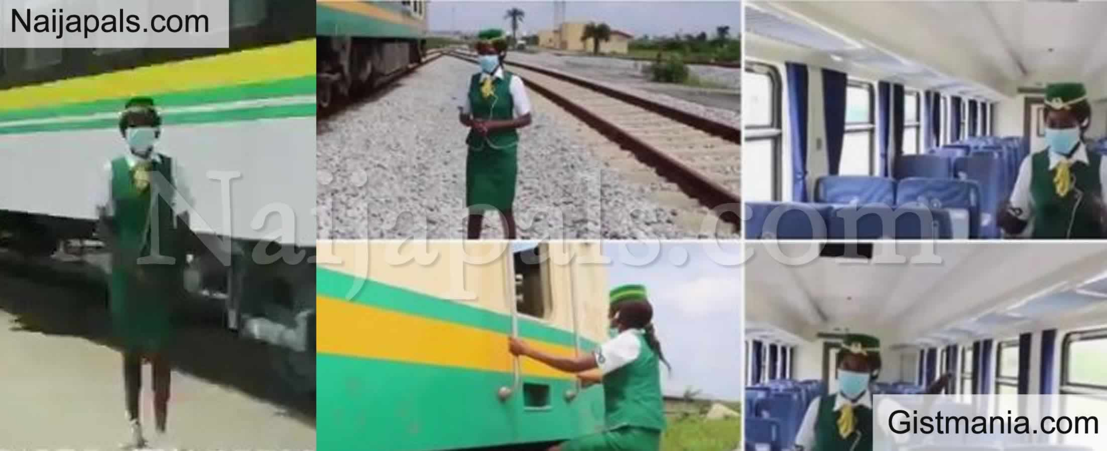 <img alt='.' class='lazyload' data-src='https://img.gistmania.com/emot/video.gif' /> <b>Meet Nigeria's First Female Train Driver As She Gives us a Peep in The Luxurious Lagos/Ibadan Train </b>(VID)