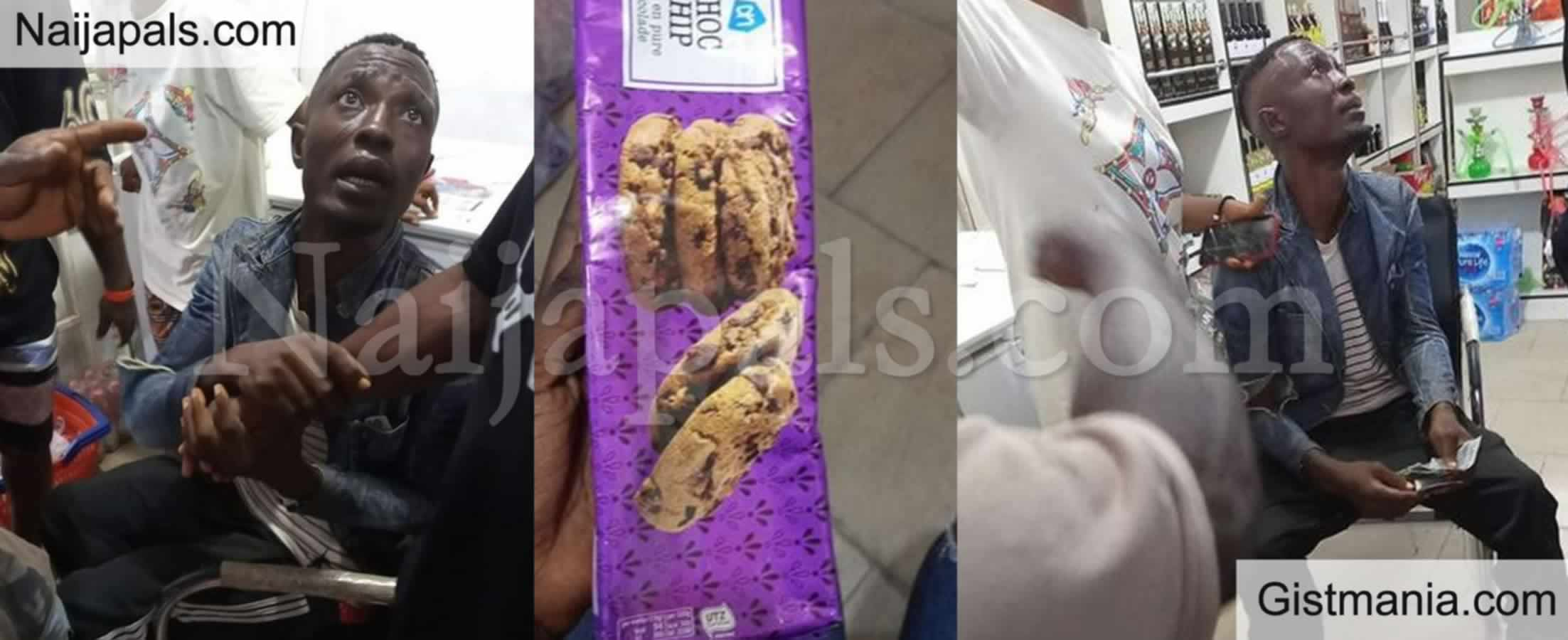<img alt='.' class='lazyload' data-src='https://img.gistmania.com/emot/thumbs_down.gif' /> <b>Thief Who Specializes In Stealing 'Expensive Biscuits' From Supermarkets Nabbed</b> In Delta -PHOTO