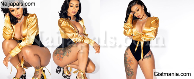 Blac Chyna Puts Her Curves On Display In New Sexy Photos
