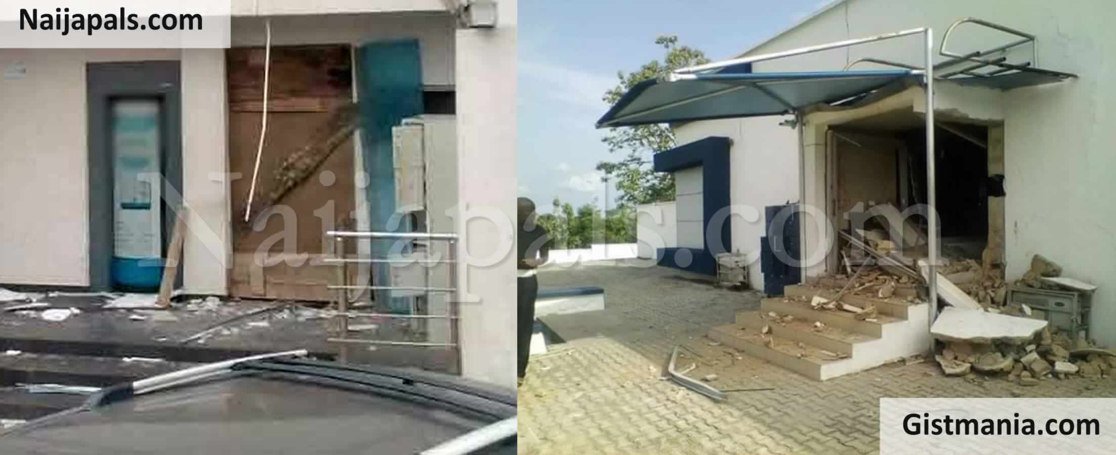 <img alt='.' class='lazyload' data-src='https://img.gistmania.com/emot/news.gif' /> <b>One Feared Killed As Armed Robbers Storm A Bank Using Explosive To Open Doors & Cart-Away Money In Ondo</b>