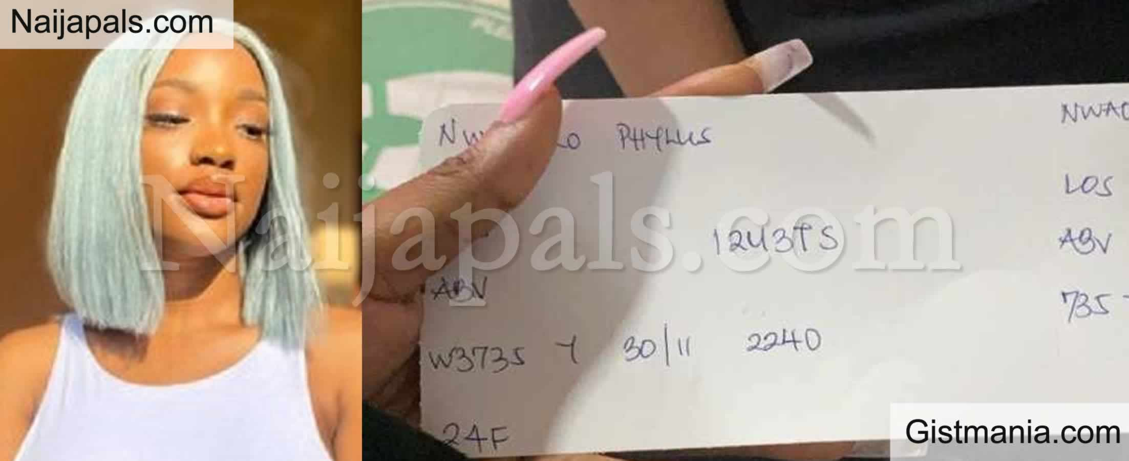 <img alt='.' class='lazyload' data-src='https://img.gistmania.com/emot/smh.gif' /> ONLY IN NAIJA! <b>Lady Shows The Handwritten Boarding Pass She Got From A Nigerian Airline</b>
