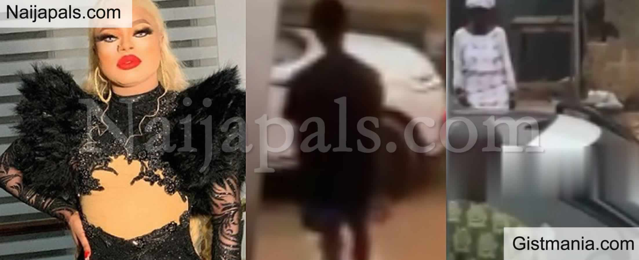 <img alt='.' class='lazyload' data-src='https://img.gistmania.com/emot/video.gif' /> Video: <b>Fans Condemns ''Mummy Of Lagos'' Bobrisky For Dressing Like A Man To Visit His Brother</b>