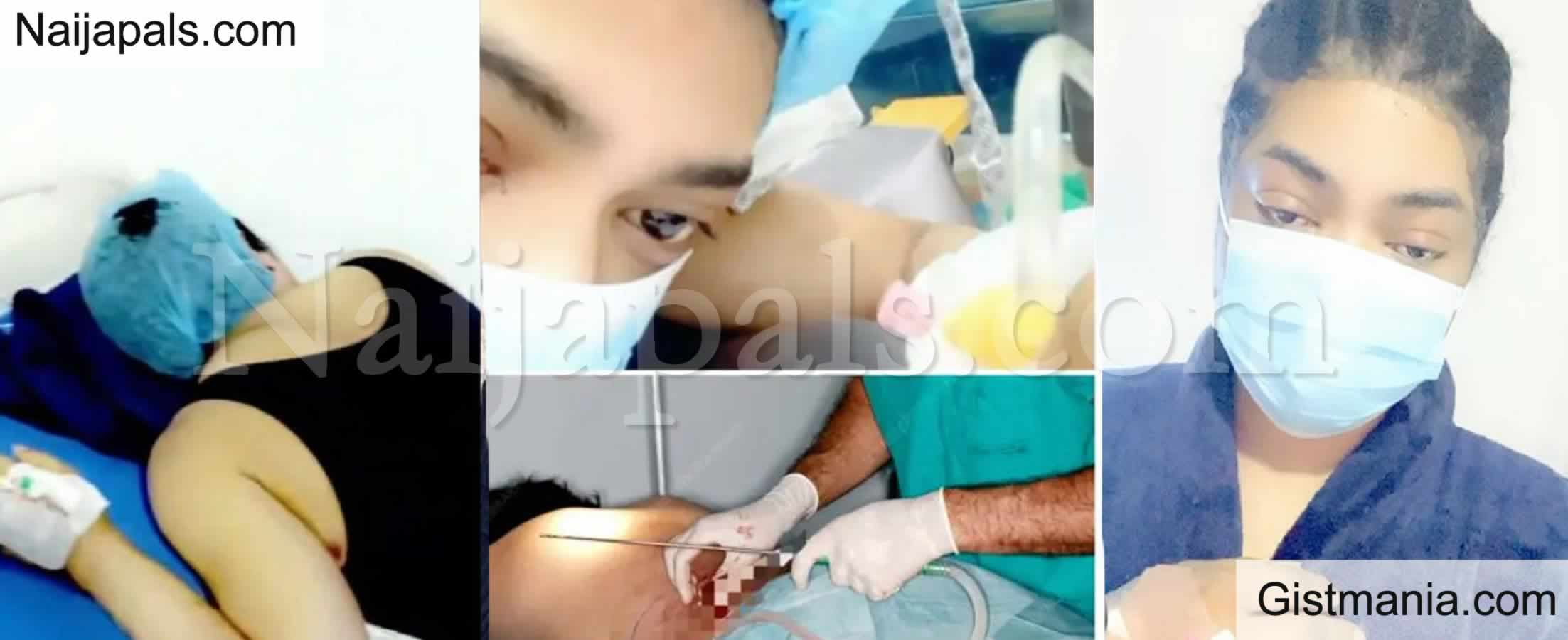 <img alt='.' class='lazyload' data-src='https://img.gistmania.com/emot/video.gif' /> <b>Bobrisky Rushed to The Hospital Due to Complications From His Cosmetic Surgery</b> (Video)