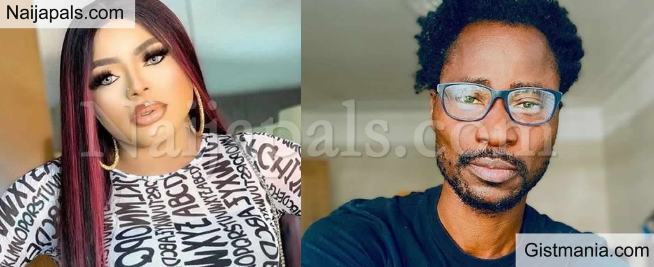 """<img alt='.' class='lazyload' data-src='https://img.gistmania.com/emot/comment.gif' /> Gay Fight! <b>""""You're A Local Champion"""" </b>Gay Activist, Bisi Alimi Comes For Cross Dresser Bobrisky"""
