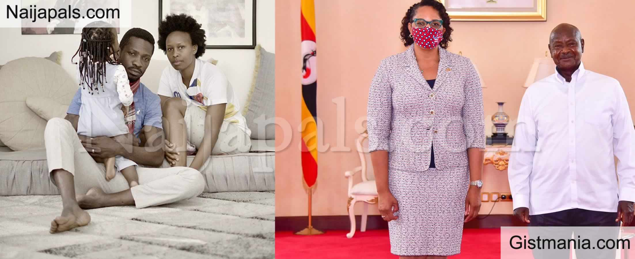 <img alt='.' class='lazyload' data-src='https://img.gistmania.com/emot/news.gif' /> <b>Ugandan Govt Stops American Envoy, Natalie Brown From Visiting Bobi Wine</b>