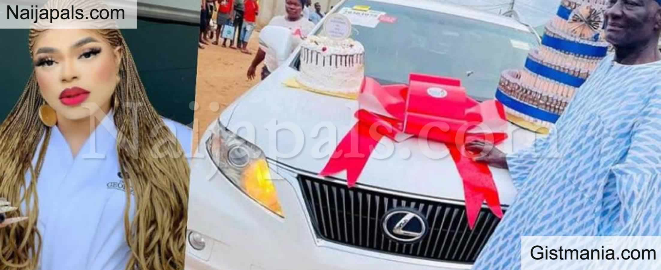 <img alt='.' class='lazyload' data-src='https://img.gistmania.com/emot/comment.gif' /> <b>Male Barbie,Bobrisky Celebrates His Father With New Lexus SUV as Birthday Gift</b>