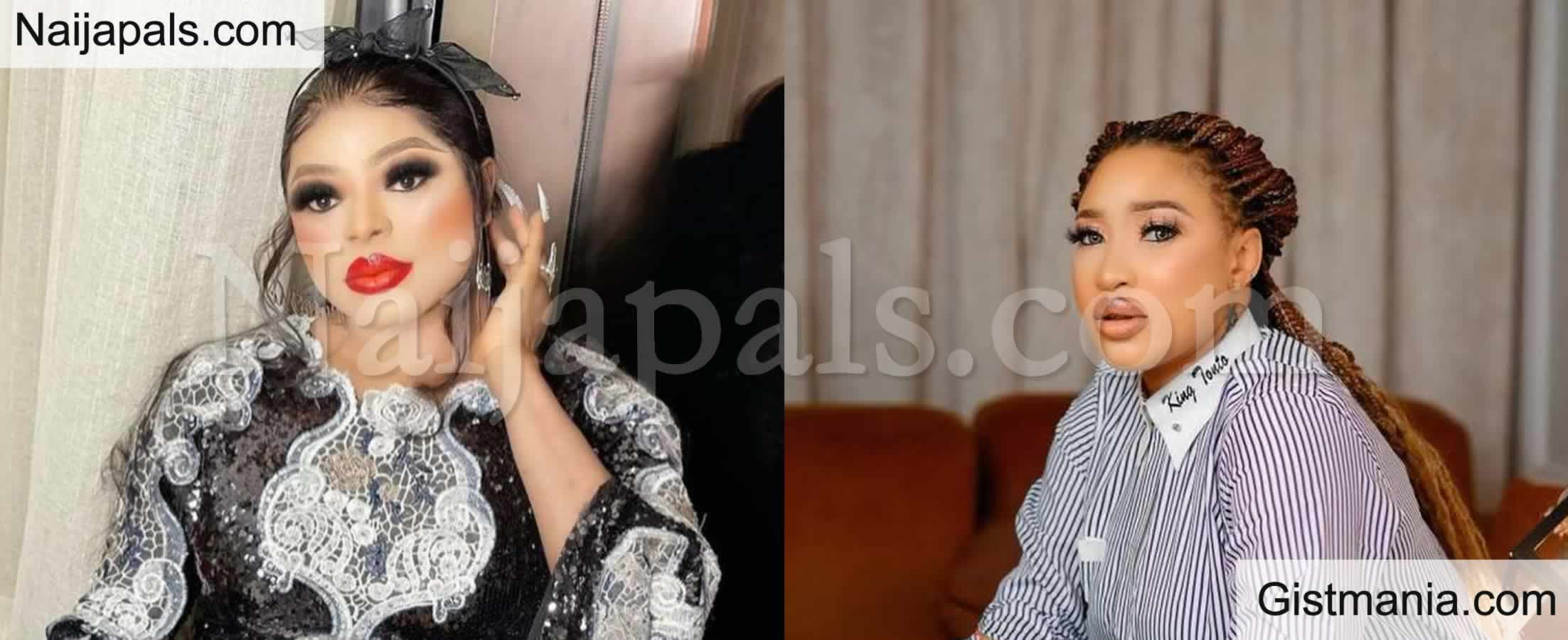 <img alt='.' class='lazyload' data-src='https://img.gistmania.com/emot/shocked.gif' /><b>War Of besties: Crossdresser, Bobrisky Blocks Tonto Dikeh After She Unfollowed Him On IG</b>