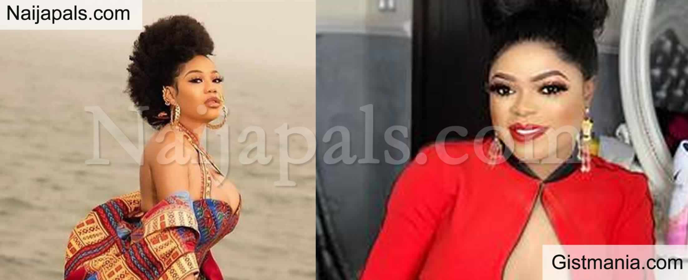 <img alt='.' class='lazyload' data-src='https://img.gistmania.com/emot/comment.gif' /> <b>Bobrisky Calls Out Toyin Lawani For Shading BBNaija Nengi and Body-Shaming Her In Public</b>
